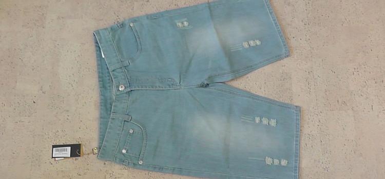 Demon&Hunter Hochsommer Herren Shorts Jeans Kurze Hose