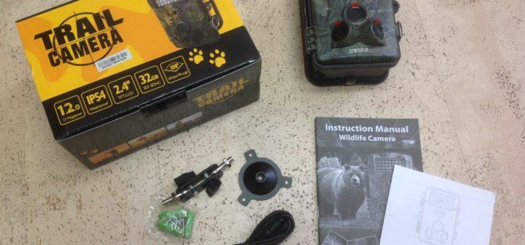 Rezension: Crenova 12MP 1080P HD Wildkamera Infrarot 20m Nachtsicht 2.4″ LCD Jagdkamera Überwachungskamera