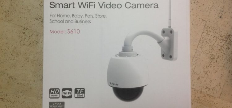 Sumpple Wifi Video IP Camera S610