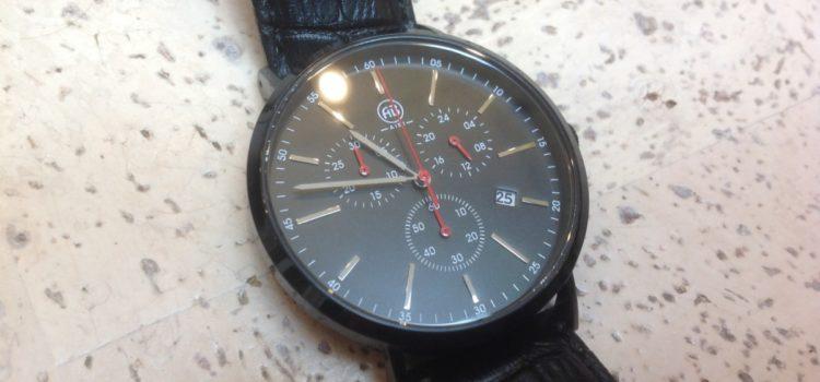 Rezension: AIBI Herren Wasserdicht Chronograph Edelstahl Leder Armbanduhr mit Datum und Stoppuhr