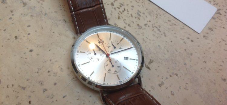 Rezension: AIBI Herren-Armbanduhr Sport Chronograph Leder braun