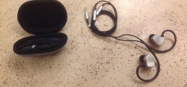 Rezension: AudioMX Ohrhörer Clip-On Stereo In-Ear Kopfhörer, mit Mikrofon und Volume Lautstärkeregler