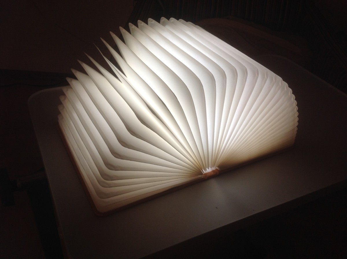 faltbare led stimmungsbeleuchtung floveme led lampe mit. Black Bedroom Furniture Sets. Home Design Ideas