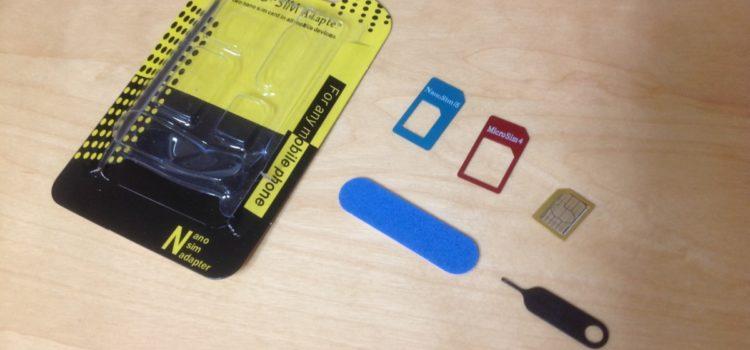 Test: Sim Karten Adapter, TechRise 5 in 1 Nano Micro Standard