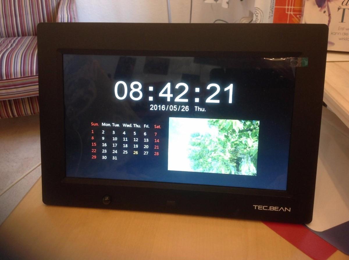 Test: TEC.BEAN 10.1-Zoll 16G HD Digitaler Bilderrahmen mit ...