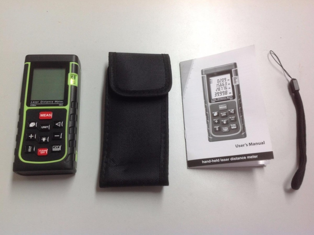 Test iegeek profi laser entfernungsmesser m distanzmessgerät