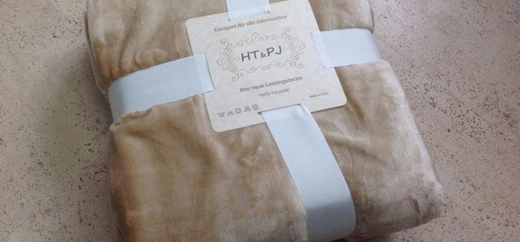 Test: Premium Kuscheldecke Wohndecke Tagesdecke Überwurfdecke / Mikrofaser / flauschig seidenweich Flannel-Fleece, Beige XL 150×200 cm