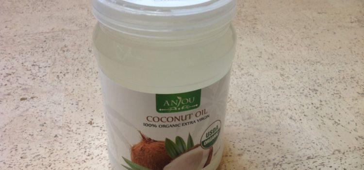 Kokosöl Anjou Naturbelassen Kaltgepresst und Nativ