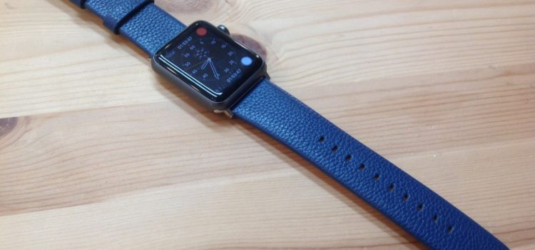 Apple Watch Armband Leder Fullmosa (TM) Litchi Textur Head Layer Cowhide Band 42mm