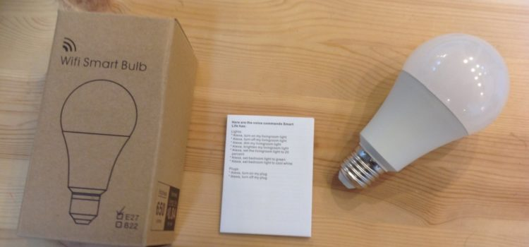 Rezension: Wifi Smart Birne, LYASI Mehrfarbige LED Dimmbare 7W RGB Glühbirne