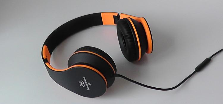 Sound Intone I68  faltbare Kopfhörer mit Headset