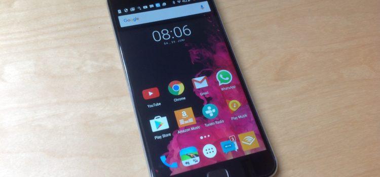 Review: Android 6.0 UMi Touch Simlockfreies-Smartphone 4000mAh Mobiltelefon, Fingerabdruck 3GB/ 16GB 5.5 Zoll Dual SIM entsperrtes Smartphone Octa Core 4G LTE- Grau