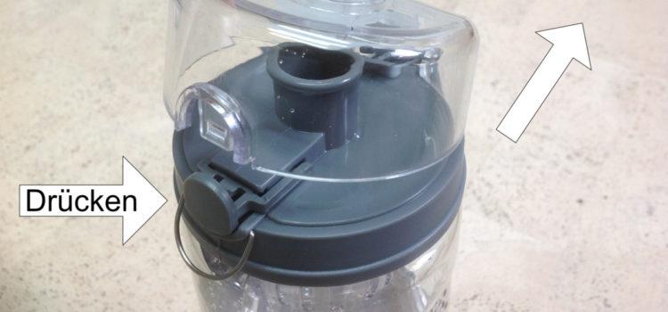 Review: Kuuk Fruchtschorle Wasserflasche zum Radfahren, Wandern, Fitnessraum – BPA Frei – 900 ml