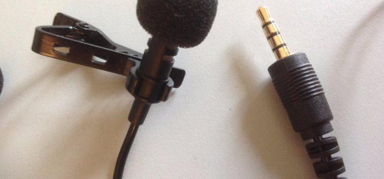 Test: Mikrofon Lavalier Lapel für Smartphone, Omnidirectional Kondensator-Mikrofon für iPhone & Android Laptop Macbook, iPad, iPod Touch