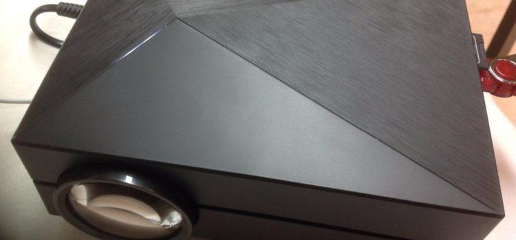 Test: AVANTEK Mini LCD Projektor Tragbarer, Mobiler Beamer 800 x 480 RGB