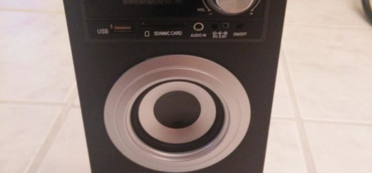 Test: Lacoon Beachside BS-20BTS portabler Bluetooth-Lautsprecher Akku-Lautsprecherbox