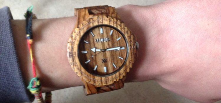 Test: XLORDX Holzuhr ZebraHolz Armbanduhr Herrenuhr