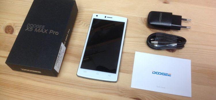 Rezension: DOOGEE X5 MAX PRO 5.0 Zoll Smartphone