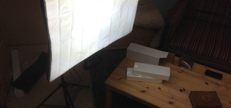 Rezension: MVPower® Fotostudio Studioleuchte Fotolampe Studioset Softbox