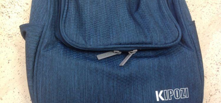 Rezension: KIPOZI Kulturbeutel Reise zum Aufhängen, Kosmetiktasche, Waschbeutel