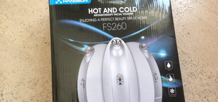 Rezension: Hangsun Gesichtssauna Dampf Inhalator Facial Steamer FS260