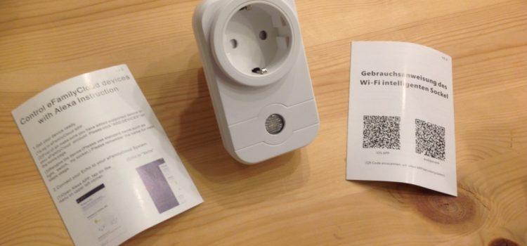 Rezension: WiFi Steckdose, Leyuee Smart WiFi WLAN Steckdose Fernbedienung