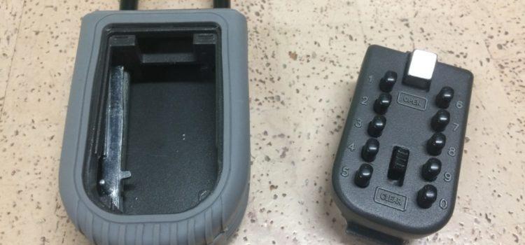 Rezension: Schlüsseltresor,QITAO Schlüsselsafe Notschlüsselkasten mit Zahlenschloss,Schlüsselbox mit Zahlenkombination